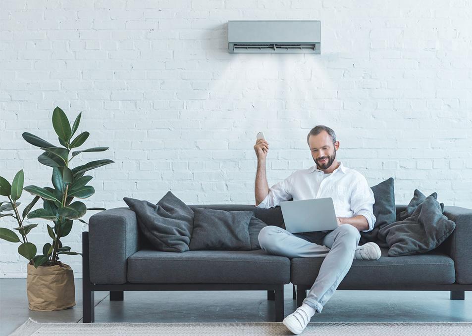 Installation climatisation à Quiberon Systeme split Air / Air