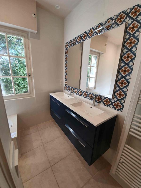 Rénovation salle de bain près de plouharnel